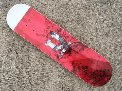 Uppercase Branded Skateboard
