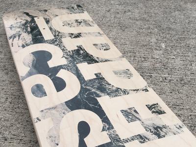 Uppercase Mountains Skateboard
