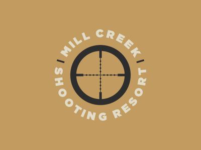 Mill Creek Shooting Resort badge futura guns rifle precision colorado firearms reticule scope resort shooting
