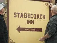 Stagecoach Inn Signage