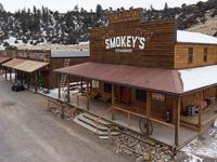 Smokey's Steakhouse Signage