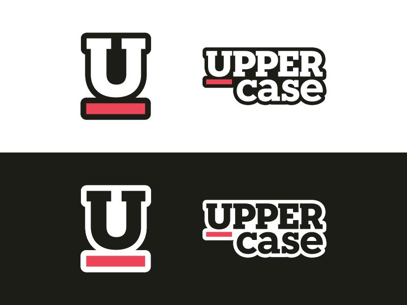 Uppercase Stickers slab serif pink print sticker mule u stickers uppercase