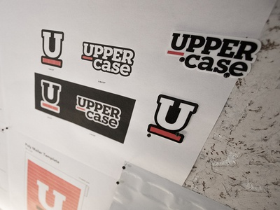 Uppercase Stickers II