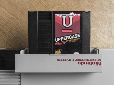 Uppercase Nintendo Cartridges