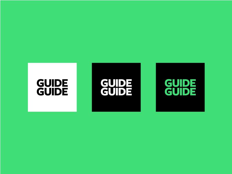 Guide Guide Rebrand palette illustrator photoshop guide block square neon branding logo guide guide