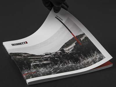 2018 Barrett Catalog black and white akzidenz grotesk akzidenz firearms book magazine print design layout catalog editorial barrett