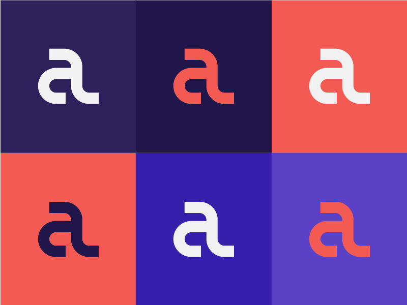 A+L Monogram monogram lettermark logotype brand letter a letter typography wordmark logo design logo branding a