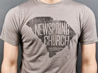 NewSpring Shirt Test Print