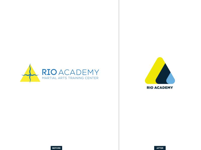 Rio Academy Rebrand ocean brand branding grappling martial arts workout gym rio rio de janeiro logo bjj jiu-jitsu rebrand