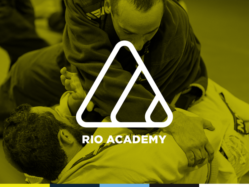 Rio Academy Treatment overlay ocean brand branding grappling martial arts workout gym rio rio de janeiro logo bjj jiu-jitsu rebrand mark