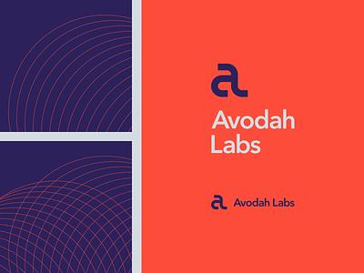 Avodah Labs pattern textures a branding logo logo design wordmark typography letter letter a brand logotype lettermark monogram