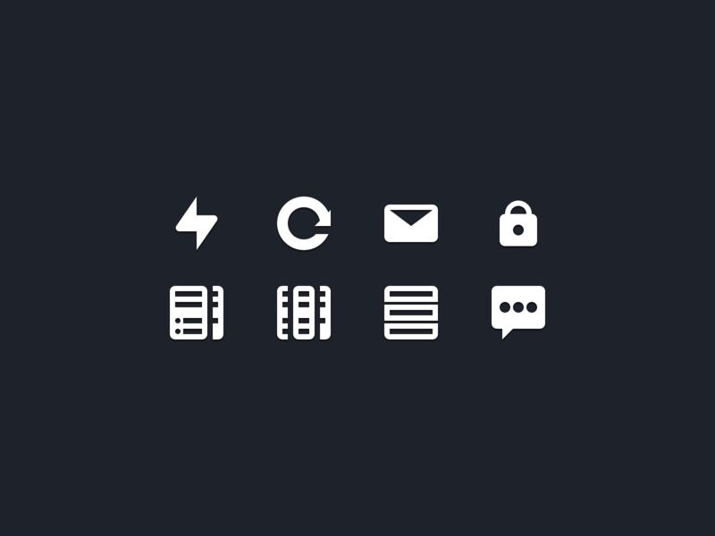 Product icons exploration renew vps hosting product iconset icons