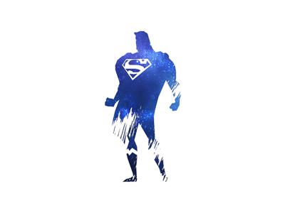 Superman superman galaxy marvel comics smooth hero illustration superhero super man draw paint