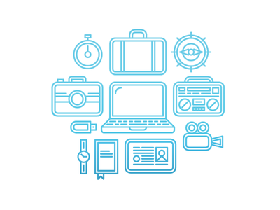 Travel Workplace Illustration