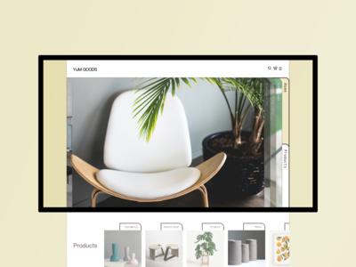 Yum Goods | UI Web Design
