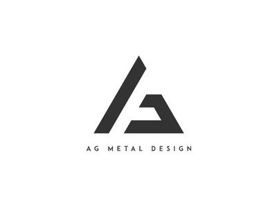 AG Metal Design - Logo by Alexis Wollseifen - Dribbble