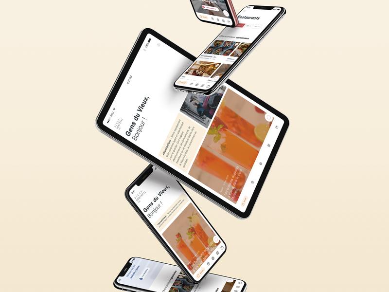 SDC Vieux Montreal Website figma app white montreal web mobile minimalist design ui