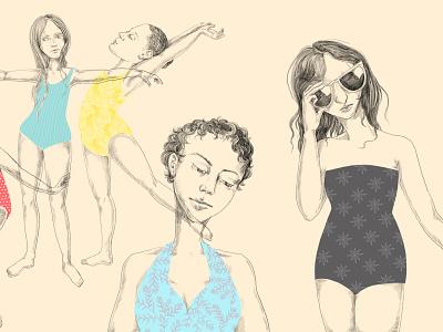 Bathing Suits II illustration