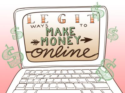 Legit Ways to Make Money Online