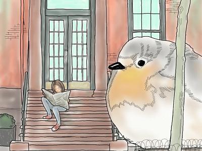 Burd illustration