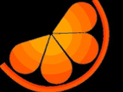 Citrus illustration logo design