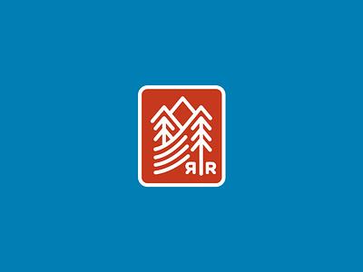 River Run Resort outdoors nature badge colorado mountains r water river tree logo