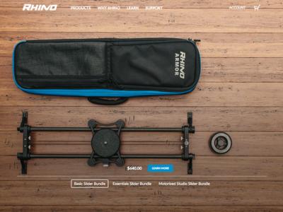 Rhino Camera Gear Website