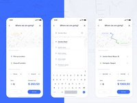 Yezz App - Location select