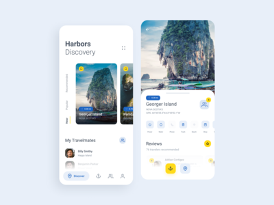 Travel App - Harbor Discovery