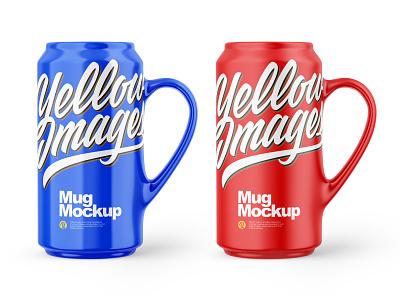 Mugs Mockups yellowimages branding mockup design tamplate graphic mockups mockup glossy matte coca cup mug