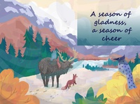 A Season of Gladness - Greeting Card