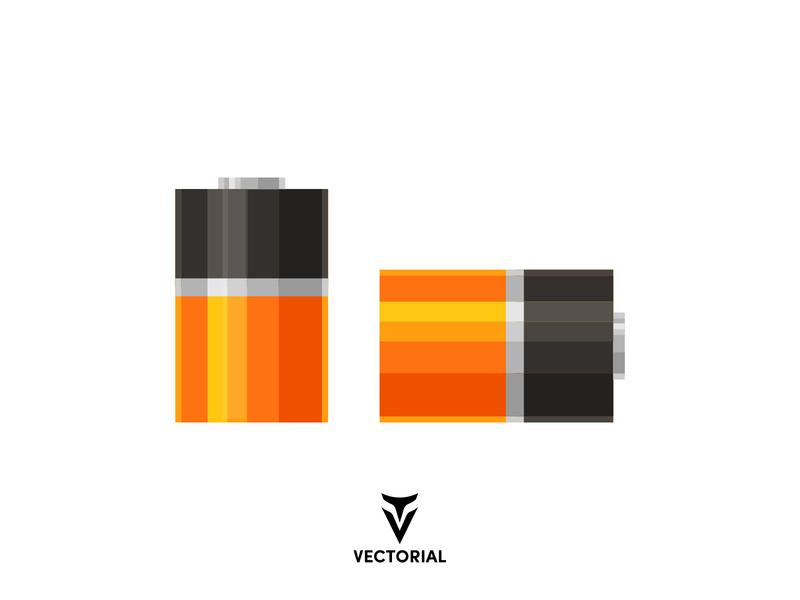 Battery icon icon logo tutorial design illustrator illustration flat design flatdesign flat vector battery vector flat design battery battery