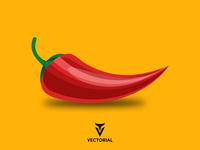 Pepper tutorial vector design illustrator illustration flat design flatdesign flat flat pepper chili pepper pepper vector pepper