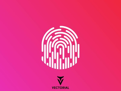 Fingerprint adobe illustrator vectorial icon logo tutorial vector design illustrator illustration flat design flatdesign flat fingerprint icon fingerprint