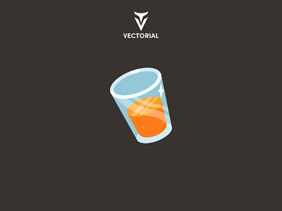 Orange glass orange glass orange glass branding ui logo vector design illustrator flatdesign flat design flat illustration