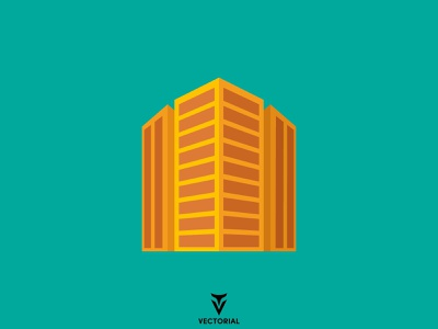 Perspective Buildings branding ui logo vector design illustrator flatdesign illustration flat design flat perspective building buildings