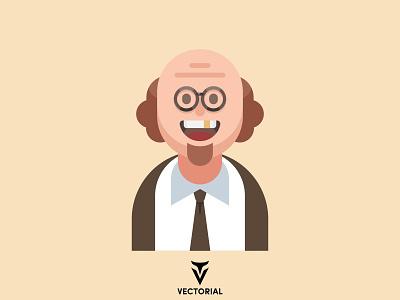 Character branding logo ui design illustrator flatdesign illustration businessman character character vector vector vector character cartoon character flat character flat flat design character