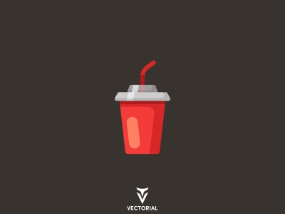 Paper cup icon branding ui logo vector design illustrator flatdesign illustration flat design flat drink fastfood cup paper cup