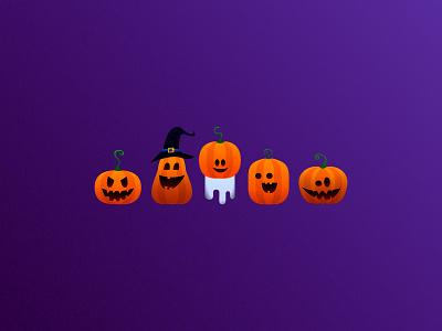 Boooo helloween vector illustration ill graphic design