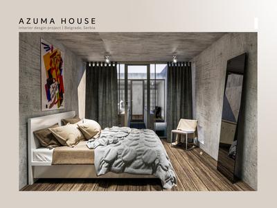 Azuma House 3D Render