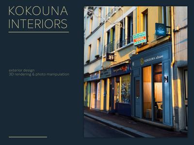 Kokouna Interiors - Exterior Design