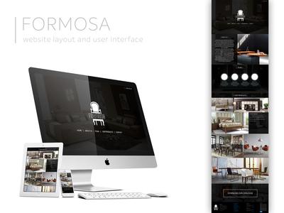 Formosa Website Layout