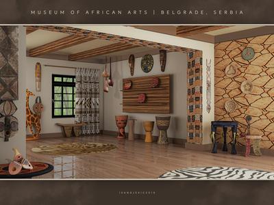 Museum Of African Arts - Interior Design