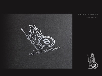Swiss Mining Logo Design