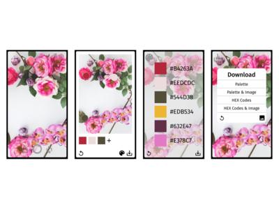 Color Picker App Design