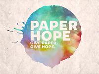 Paper Hope (concept 2)