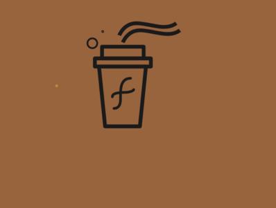 coffee branding logo ui icon