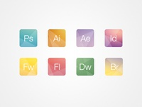 Creative Adobe Icons