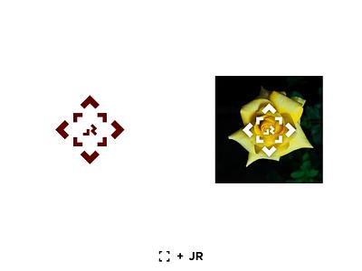 Logo for a Photographer logo design design yellow graphicdesign mark icon flowers photographer logodesign logomark logo