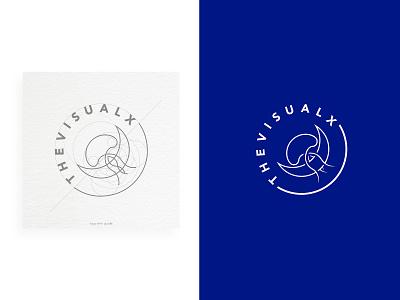 The Visual X Logo branding design identity design brand thevisualx identitydesign guides logodesign logo design logo